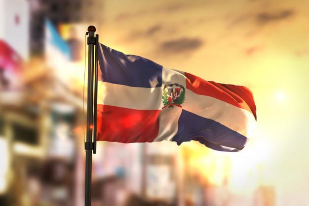 Patria de mi alma, Patria de mi corazón [Poema a mi Patria], Bandera Dominicana Ondeando